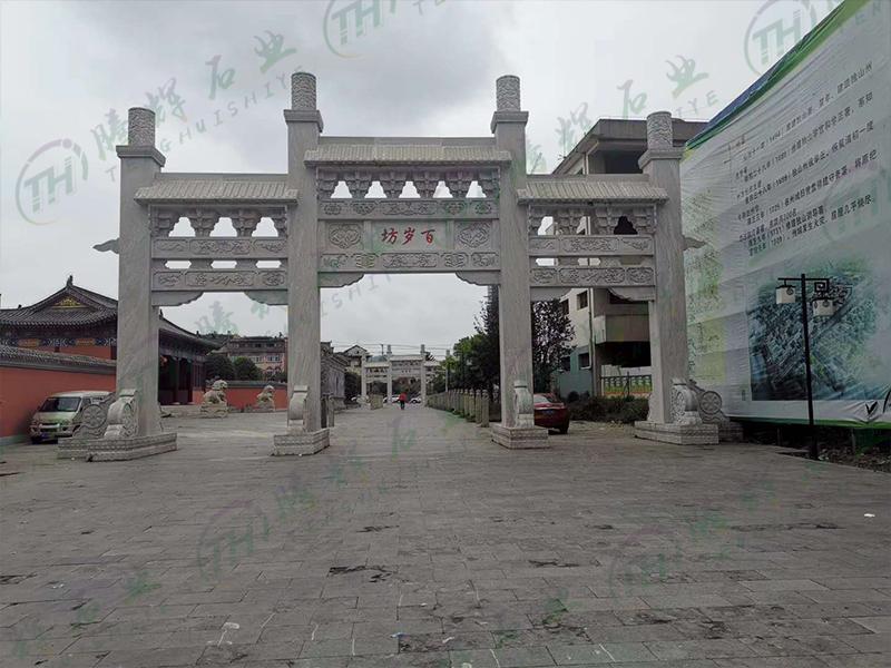 嘉祥腾辉石业厂家分享石雕产品在使用中褪色的(图1)