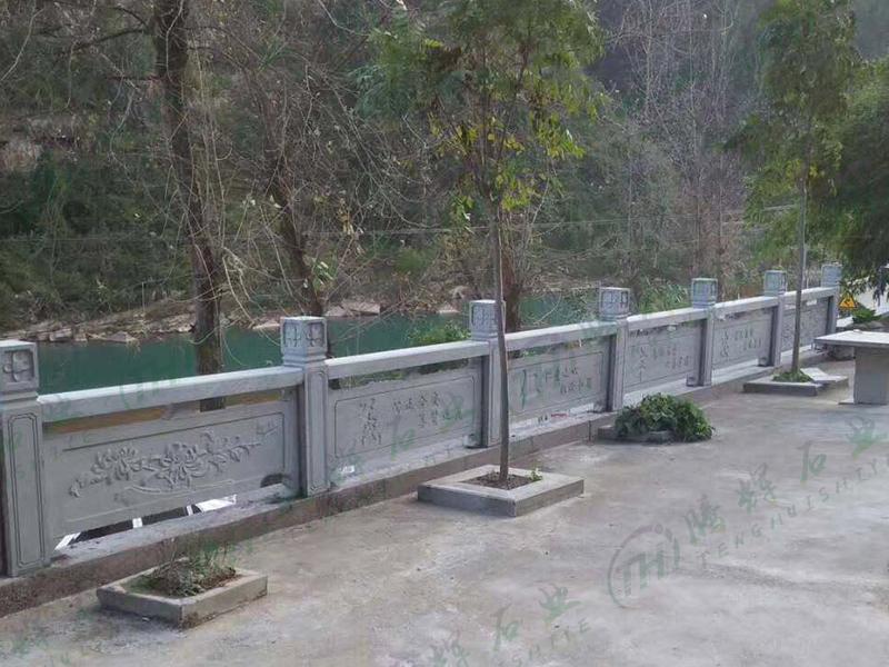 选择河道石栏杆需要注意这几个问题(图1)